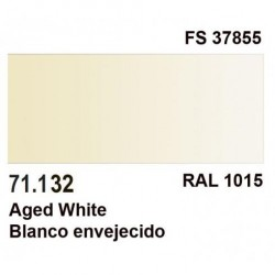 Acrilico Model Air Blanco Envejecido. Bote 17 ml. Marca Vallejo. Ref: 71.132.