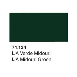 Acrilico Model Air IJA Verde Midouri. Bote 17 ml. Marca Vallejo. Ref: 71.134.