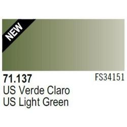 Acrilico Model Air US Verde Claro. Bote 17 ml. Marca Vallejo. Ref: 71.137.