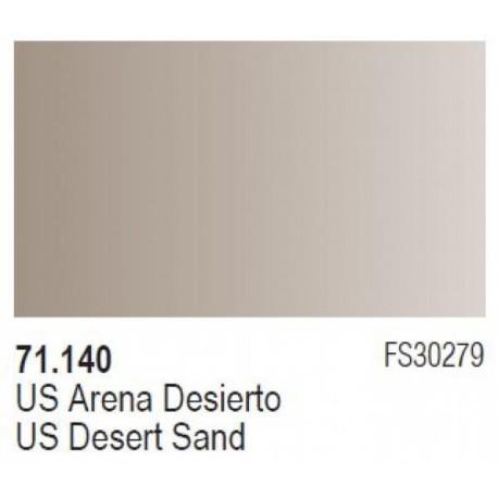 Acrilico Model Air US Arena desierto. Bote 17 ml. Marca Vallejo. Ref: 71.140.