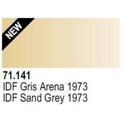 Acrilico Model Air IDF Gris Arena 73. Bote 17 ml. Marca Vallejo. Ref: 71.141.