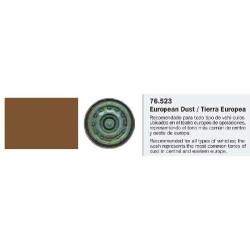 Model Wash, Lavado Tierra Europea. Bote 35 ml. Marca Vallejo. Ref: 76.523.