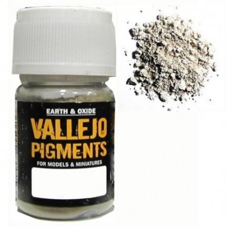 Pigmento Blanco Titanio. Bote 30 ml. Marca Vallejo. Ref: 73.101.