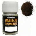 Pigmento Sombra Natural. Bote 30 ml. Marca Vallejo. Ref: 73.109.