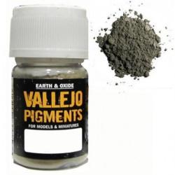 Pigmento Pizarra Claro. Bote 30 ml. Marca Vallejo. Ref: 73.113.