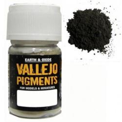 Pigmento Pizarra Oscura. Bote 30 ml. Marca Vallejo. Ref: 73.114.