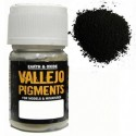 Pigmento Negro Carbon. Bote 30 ml. Marca Vallejo. Ref: 73.116.