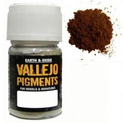 Pigmento  Oxido. Bote 30 ml. Marca Vallejo. Ref: 73.117.