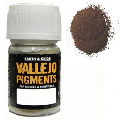 Pigmento Oxido Antiguo. Bote 30 ml. Marca Vallejo. Ref: 73.120.