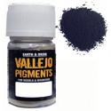Pigmento Acero Oscuro. Bote 30 ml. Marca Vallejo. Ref: 73.123.