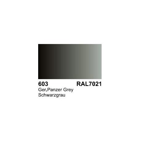 Surface Primer, Imprimacion Dunkelgrau RAL 7021. Bote 17 ml. Marca Vallejo. Ref: 70.603.