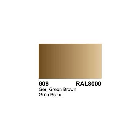 Surface Primer, Imprimacion GelbBrau RAL 8000. Bote 17 ml. Marca Vallejo. Ref: 70.606.