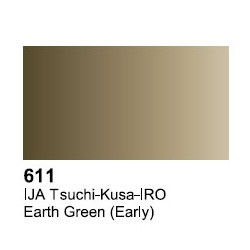 Surface Primer, Imprimacion IJA Tsuchi-Kusa-IRO. Bote 17 ml. Marca Vallejo. Ref: 70.611.