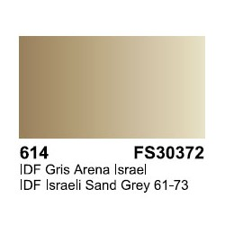 Surface Primer, Imprimacion IDF Gris Arena Israel. Bote 17 ml. Marca Vallejo. Ref: 70.614.