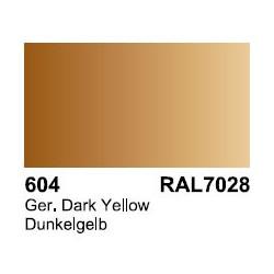 Surface Primer, Imprimacion Dunkelgelb RAL7028. Bote 60 ml. Marca Vallejo. Ref: 73.604.