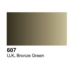 Surface Primer, Imprimacion Verde Bronze UK. Bote 60 ml. Marca Vallejo. Ref: 73.607.