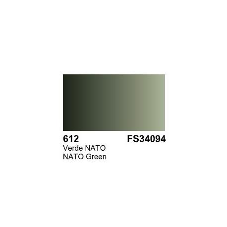 Surface Primer, Imprimacion Verde Nato. Bote 60 ml. Marca Vallejo. Ref: 73.612.