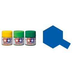 Gloss Blue, Azul Brillo (81504). Bote 10 ml. Marca Tamiya. Ref: X-4.
