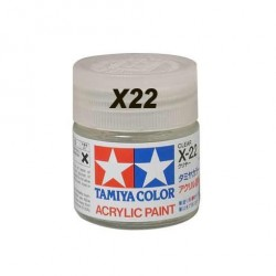 Gloss Clear, Barniz Brillo (81522). Bote 10 ml. Marca Tamiya. Ref: X-22.