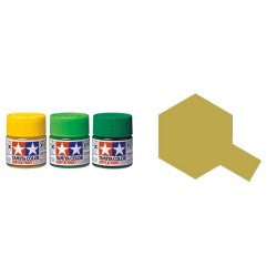 Flat Dark Yellow, Amarillo oscuro Mate (81760). Bote 10 ml. Marca Tamiya. Ref: XF-60.