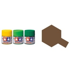 Flat Nato Brown, Marron OTAN Mate (81768). Bote 10 ml. Marca Tamiya. Ref: XF-68.