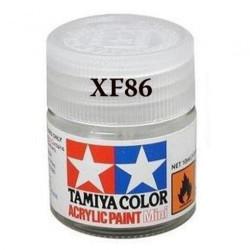 Flat Clear, Barniz Mate (81786). Bote 10 ml. Marca Tamiya. Ref: XF-86, (XF86)