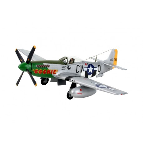 Caza North American P-51D Mustang. Escala 1:72. Marca Revell. Ref: 04148.