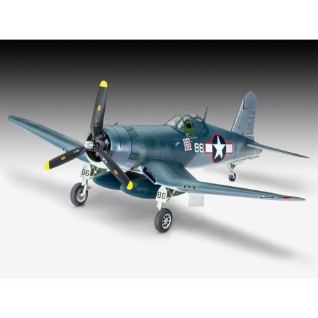 Bombardero Vought F4U-1A Corsair. Escala 1:72. Marca Revell. Ref: 03983.
