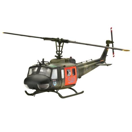 """Helicóptero Bell UH-1D """"SAR"""". Escala 1:72. Marca Revell. Ref: 04444."""