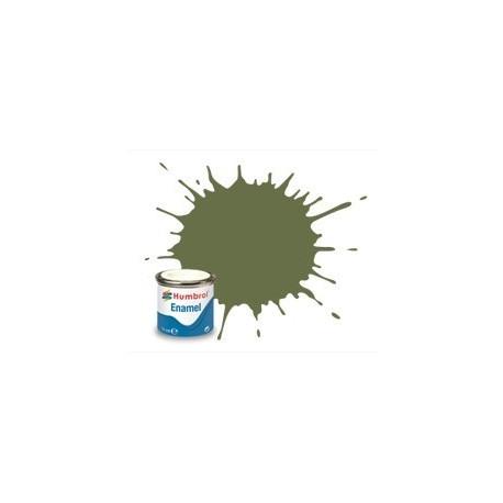 Hierba Verde Mate (80 ). Bote 14 ml. Marca Humbrol. Ref: AA0881.