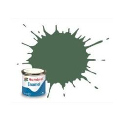 Uniforme Verde Mate ( 76 ). Bote 14 ml. Marca Humbrol. Ref: AA0847.
