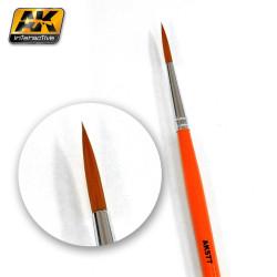 Fine Long Weathering Brush. Marca AK-lnteractive. Ref: AK577.