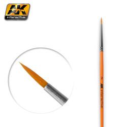 Pincel Redondo 2 Sintético. Marca AK-lnteractive. Ref: AK604.