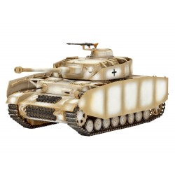 Tanque PzKpfw. IV Ausf.H. Escala 1:72. Marca Revell. Ref: 03184.
