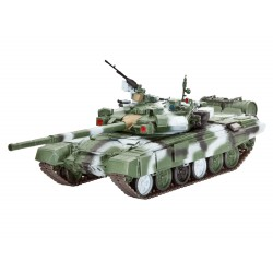 Tanque Russian Battle T-90A. Escala 1:72. Marca Revell. Ref: 03301.