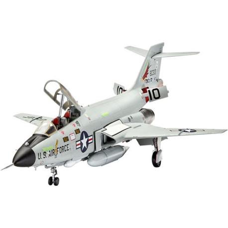 Aeronave Mcdonnell Douglas F-101 B VOODOO. Escala 1:72. Marca Revell. Ref: 04854.