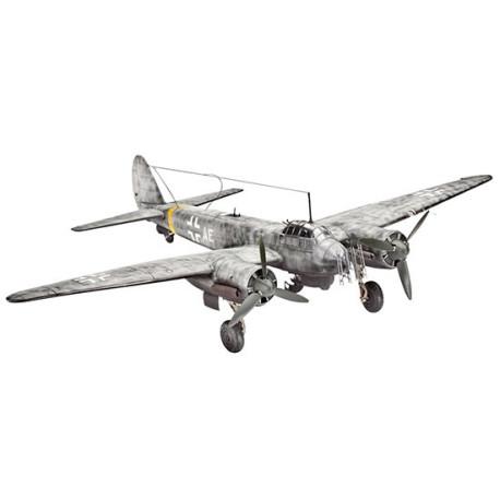 Caza Nocturno Junkers JU 88 C-6. Escala 1:72. Marca Revell. Ref: 04856.