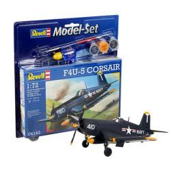 Set Caza F4U-5 Corsair. Escala 1:72. Marca Revell. Ref: 64143.