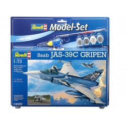 Set Caza Saab Jas 39C  Gripen. Escala 1:72. Marca Revell. Ref: 64999.