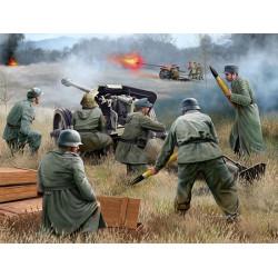 Alemán 7,5 cm Pak 40 y Soldados. Escala 1:72. Marca Revell. Ref: 02531.
