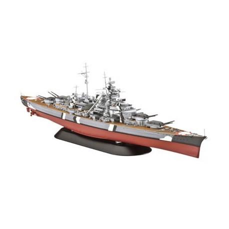 Acorazado Alemán Bismarck. Escala 1:700. Marca Revell. Ref: 05098.