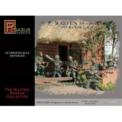 Infanteria Waffen SS 1943 WWII Set 1. Escala 1:72. Marca Pegasus. Ref: PG7201.