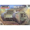 "Tanque Mark IV ""MALE"" WWI. Escala 1:72. Marca Emhar. Ref: EM5001."