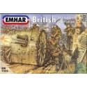 Figuras de Artilleria Britanica WWI. Escala 1:72. Marca Emhar. Ref: EM7202.