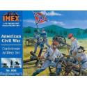 Set Artilleria Confederada Americana. Escala 1:72. Marca Imex. Ref: IM502.