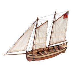 HMS Bark Endeavour Lancha del Capitán . Escala 1:50. Marca Artesanía Latina. Ref: 19015.