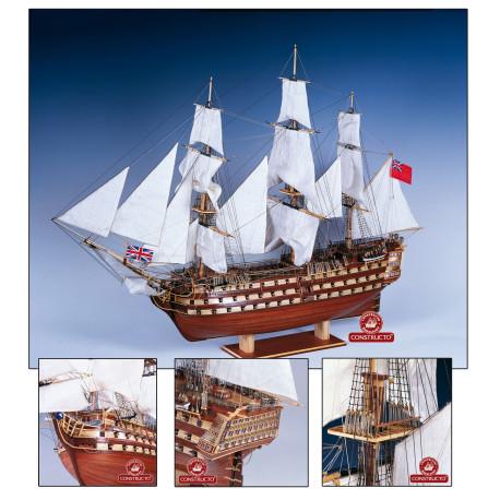 Navio H.M.S. Victory 1765. Marca Constructo. Ref: 480833.