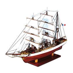 Navío Le Pourquoi-pas?( en español significa porque no?) 1907. Marca Constructo. Ref: 80835.