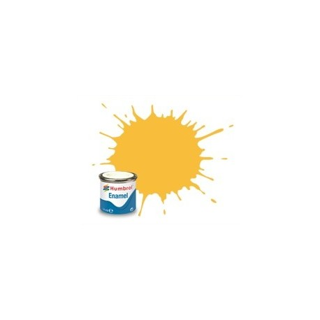 Light Buff brillante (7). Bote 14 ml. Marca Humbrol. Ref: AA0076.