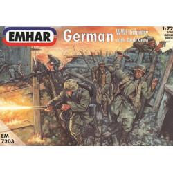 German Infantry y Tank Crew WWI Figuras . Escala 1:72. Marca Emhar. Ref: EM7203.